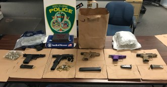Firearms Investigation Results in Six Arrests 4-15-2021