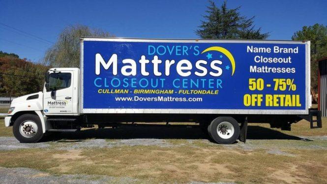 Dovers Mattress Truck