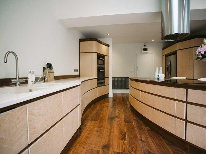 Art Deco Kitchen Dovetailors