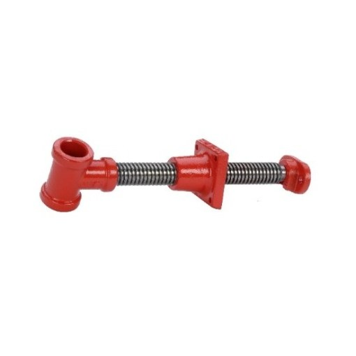 Large bench screw for German and Scandinavian L-shaped front vices