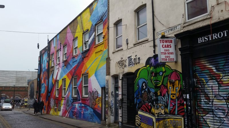 Graffiti a Londra