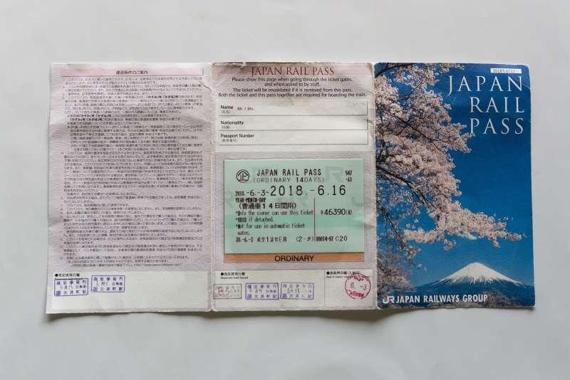 Japan Railway Pass