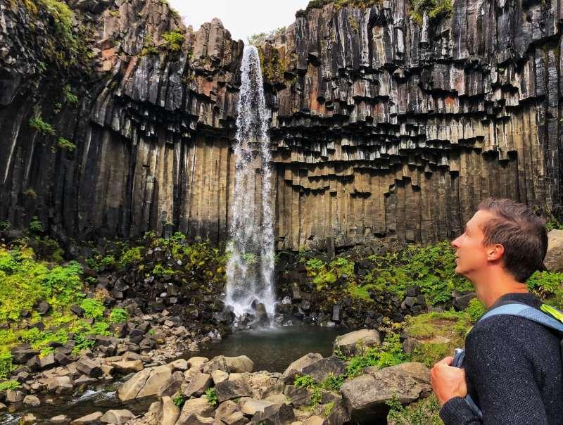 Svartifoss waterfall - Iceland