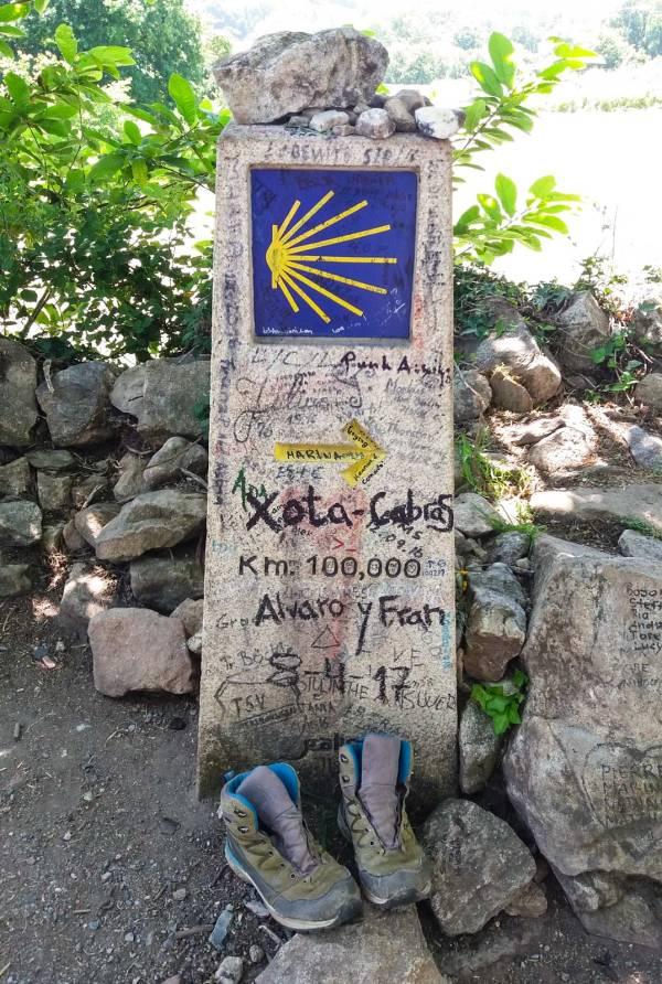 100 km da Santiago