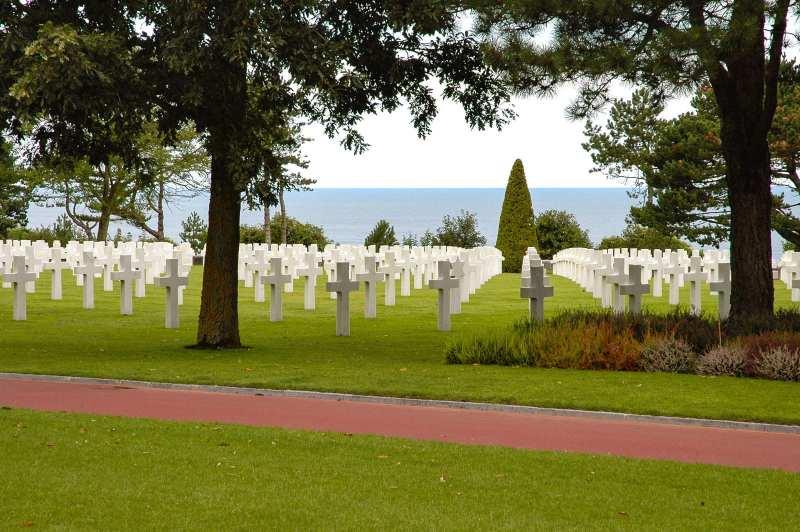Omaha Beach American Cemetery