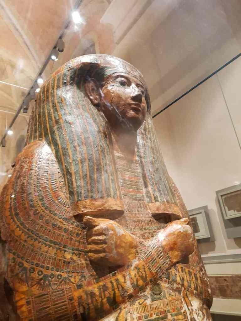 SArcofago museo egizio Torino