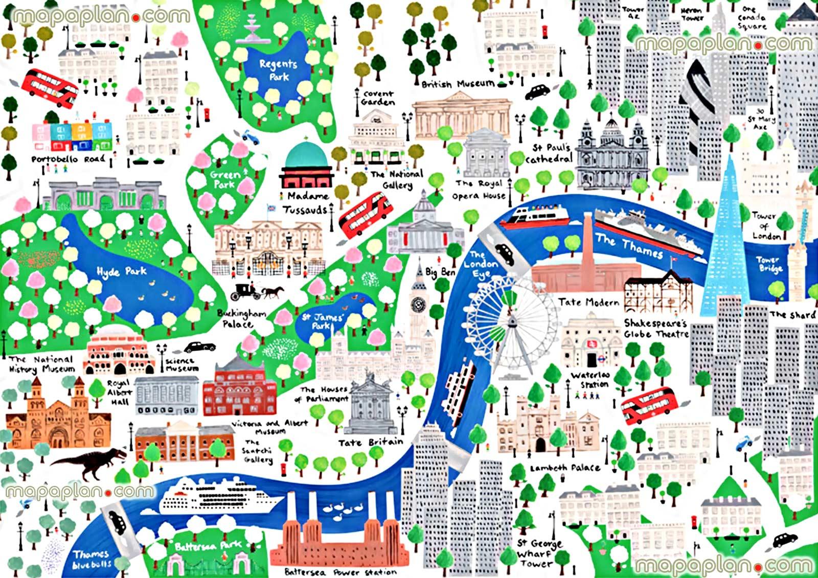 Cartina Metro Londra Con Monumenti.Londra Con Bambini Scoprire La Citta Con Mamma E Papa Dovevado Net