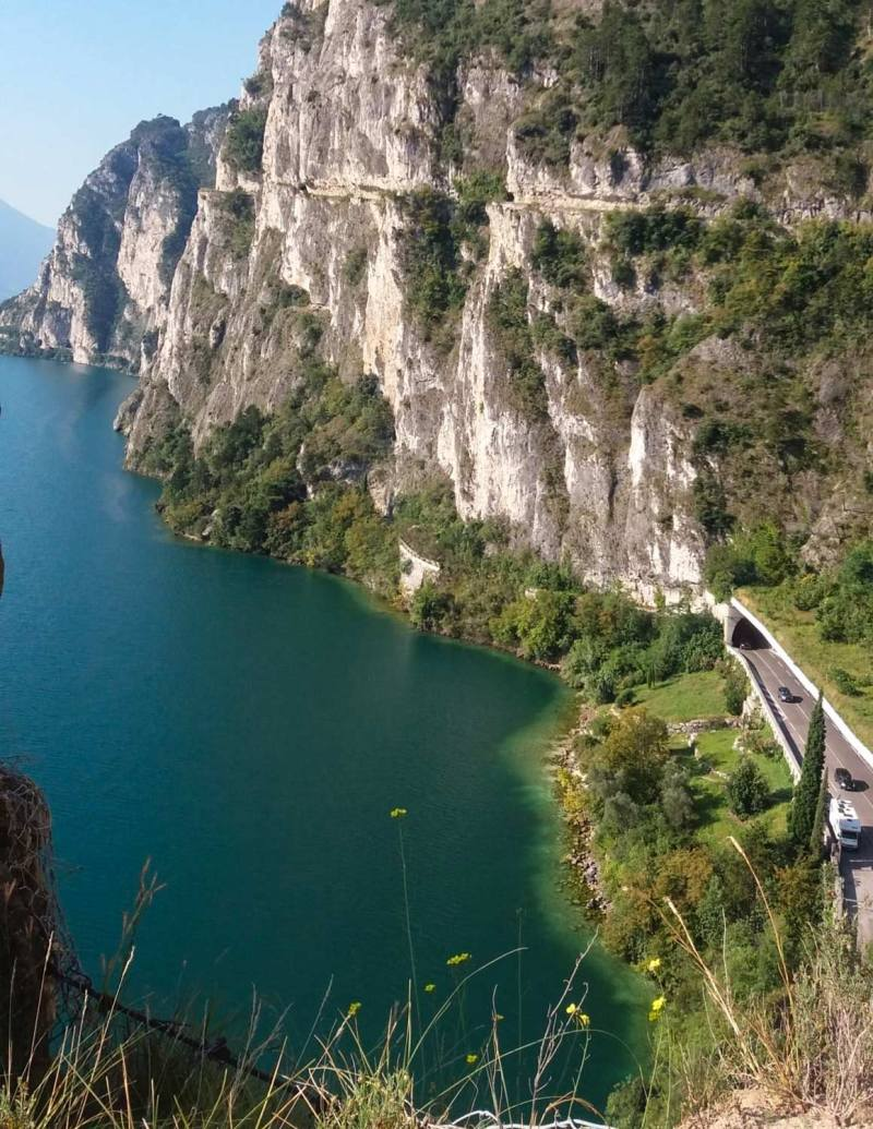 Ponale path - Lake Garda view