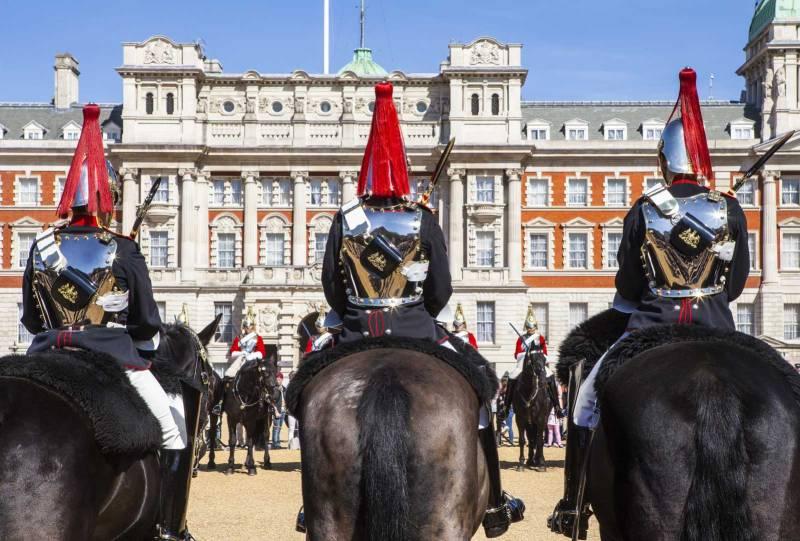 cambio della guardia Londra - house of guards parades