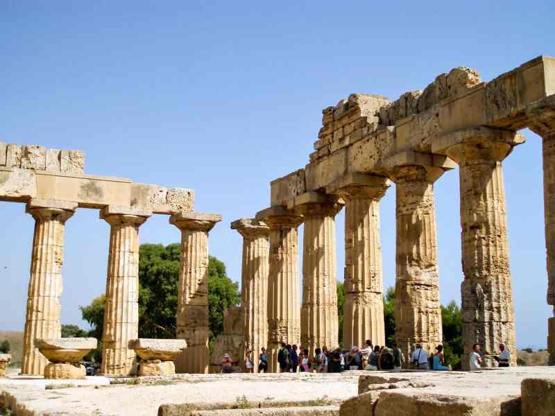 Tempio Selinunte