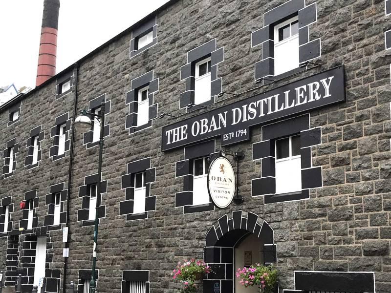 Tour del whisky - Distilleria Oban