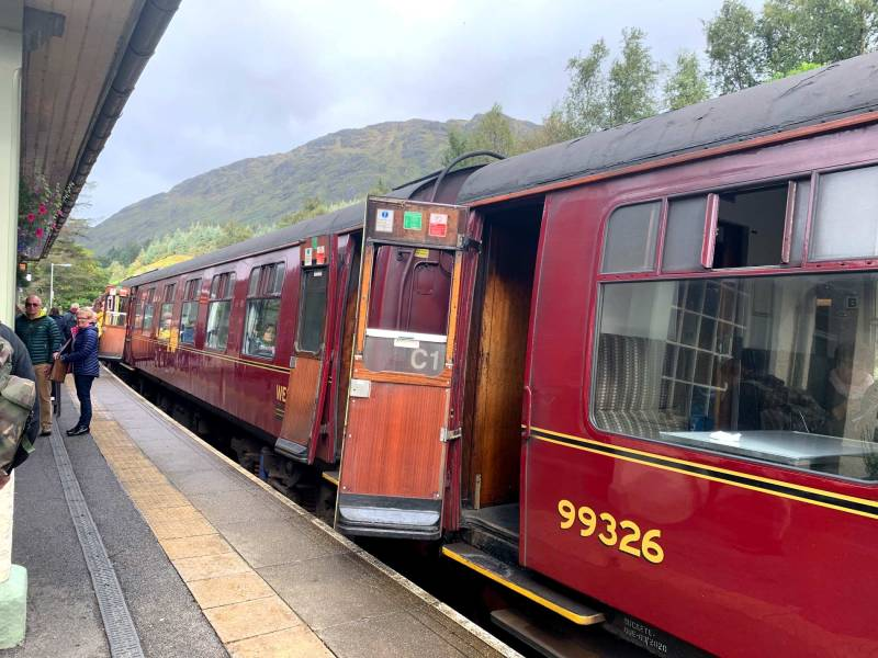 Hogwarts Express - the Harry Potter train