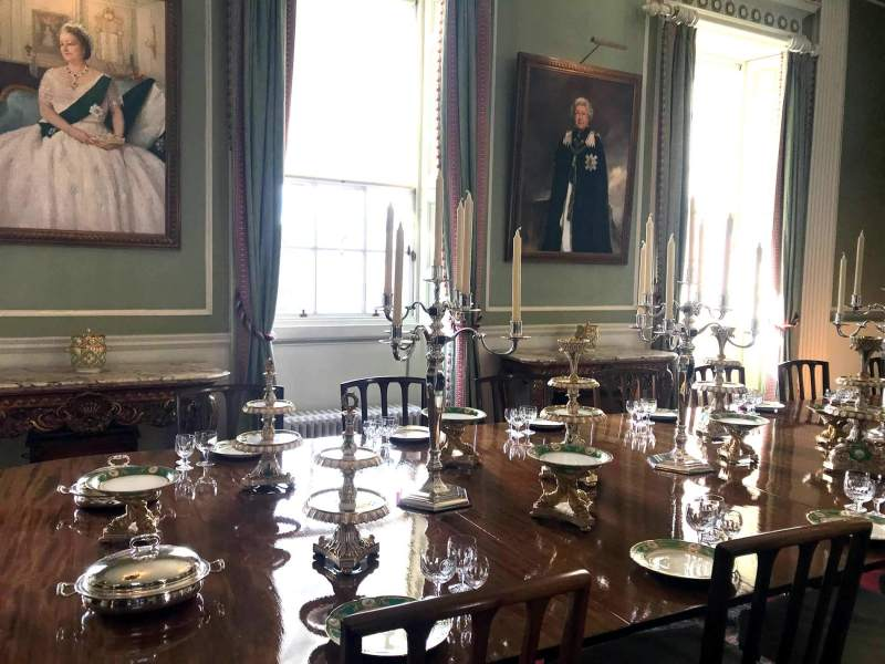 Holyrood Palace - Queen's Dining Room