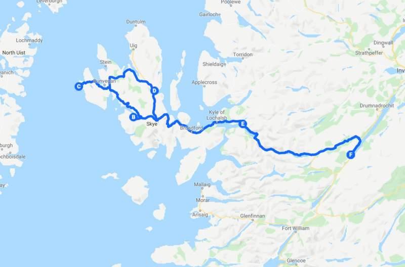 Scotland Tuor fourth day