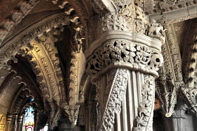 The apprehensive Pillar - The apprentice's column