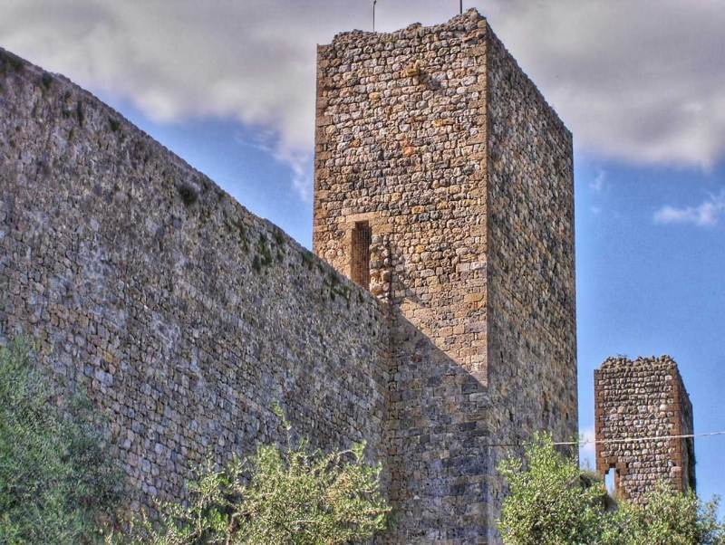 Monteriggioni Walls