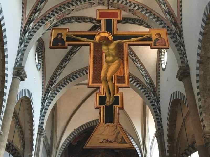 Crocifisso di Giotto Santa Maria Novella