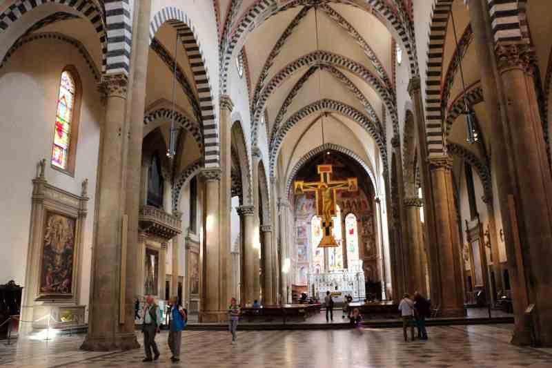 Santa Maria Novella interno