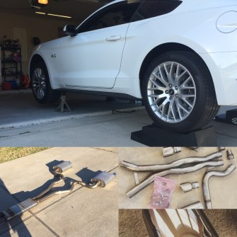 """Corsa Xtreme 3"""" S550 Mustang Exhaust"""