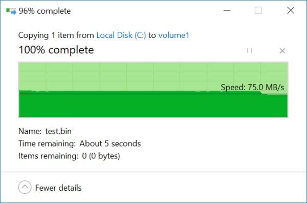 Testing Windows NFS Write Performance