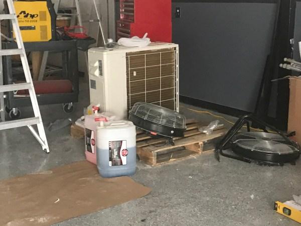 Project: Dream Garage - MRCOOL DIY 24K