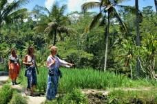 Bali výlet do údolí královen