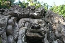 Vstupní portál Goa Gajah