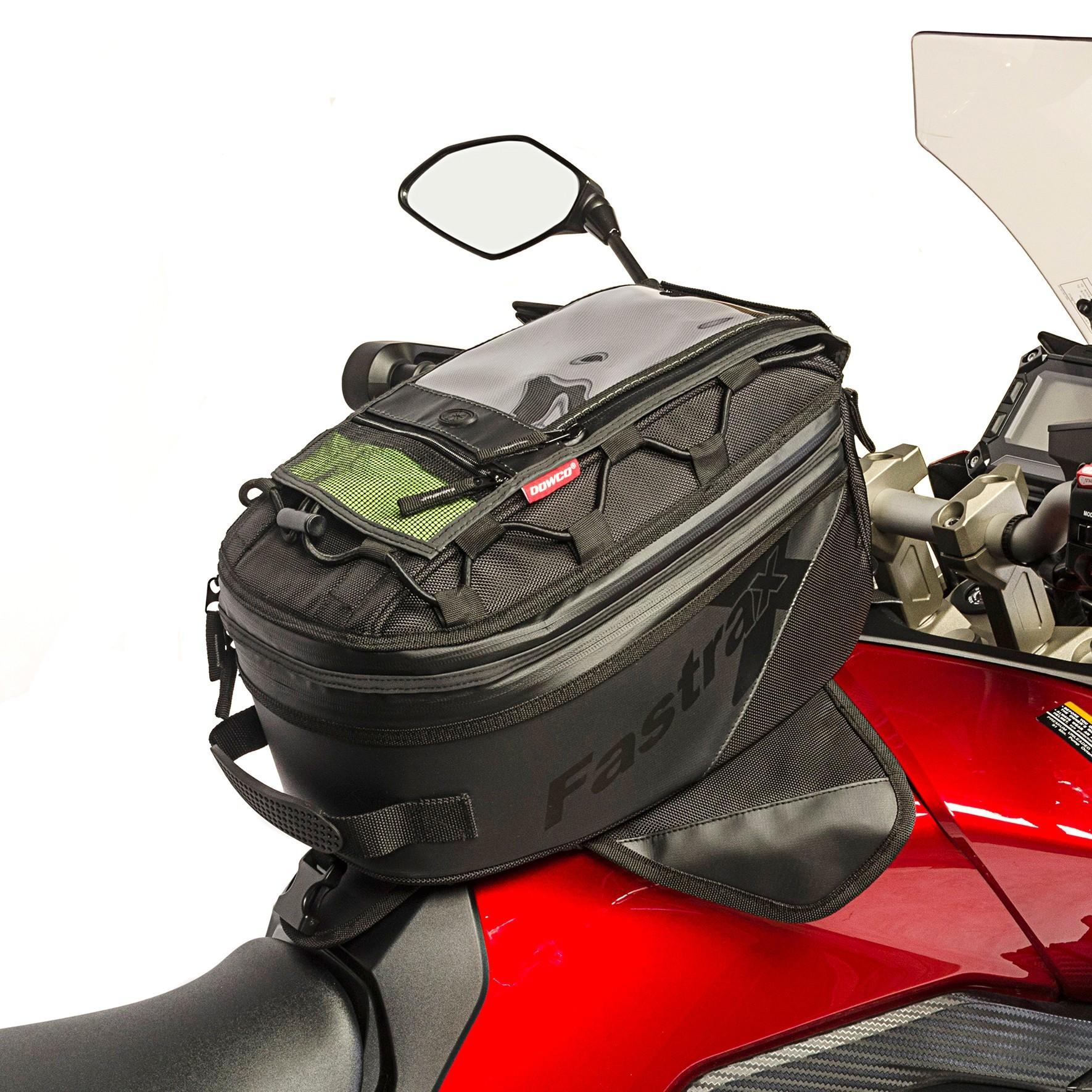 Dowco Fastrax Backroads Large Tank Bag on a Yamaha FJ-09 Motorcycle
