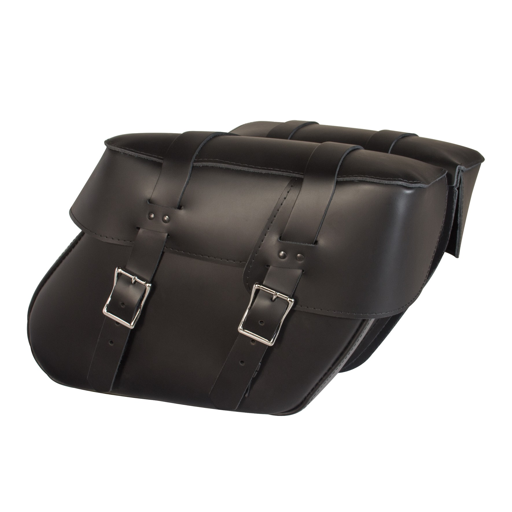 Willie and Max Ventura Leather Saddlebags