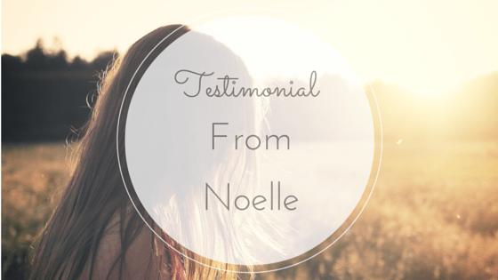testimonial coaching noelle