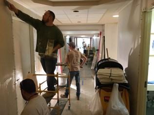 Dowling Employees Taping Away