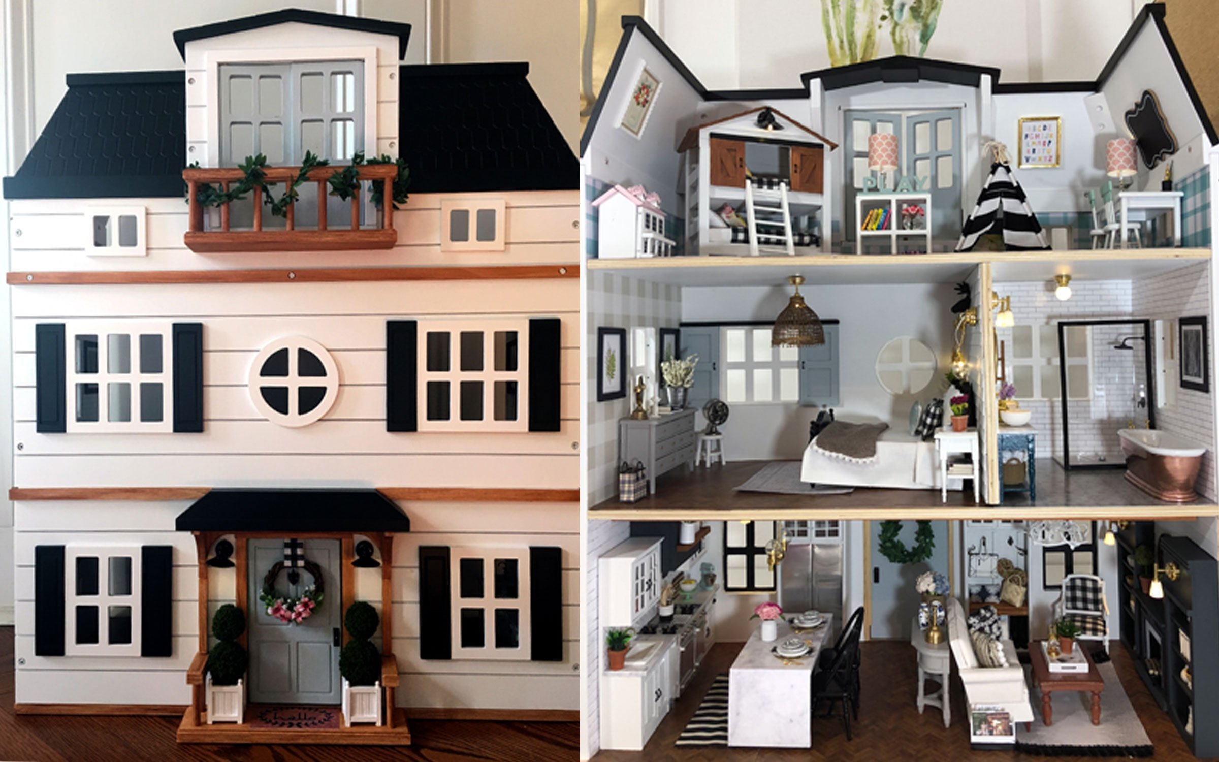 Around Philly Fixer Up Dollhouse Down2earth Interior Design