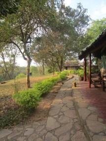 Back walkway