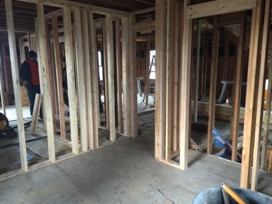 Terrible picture of what will be a small bedroom upstairs.