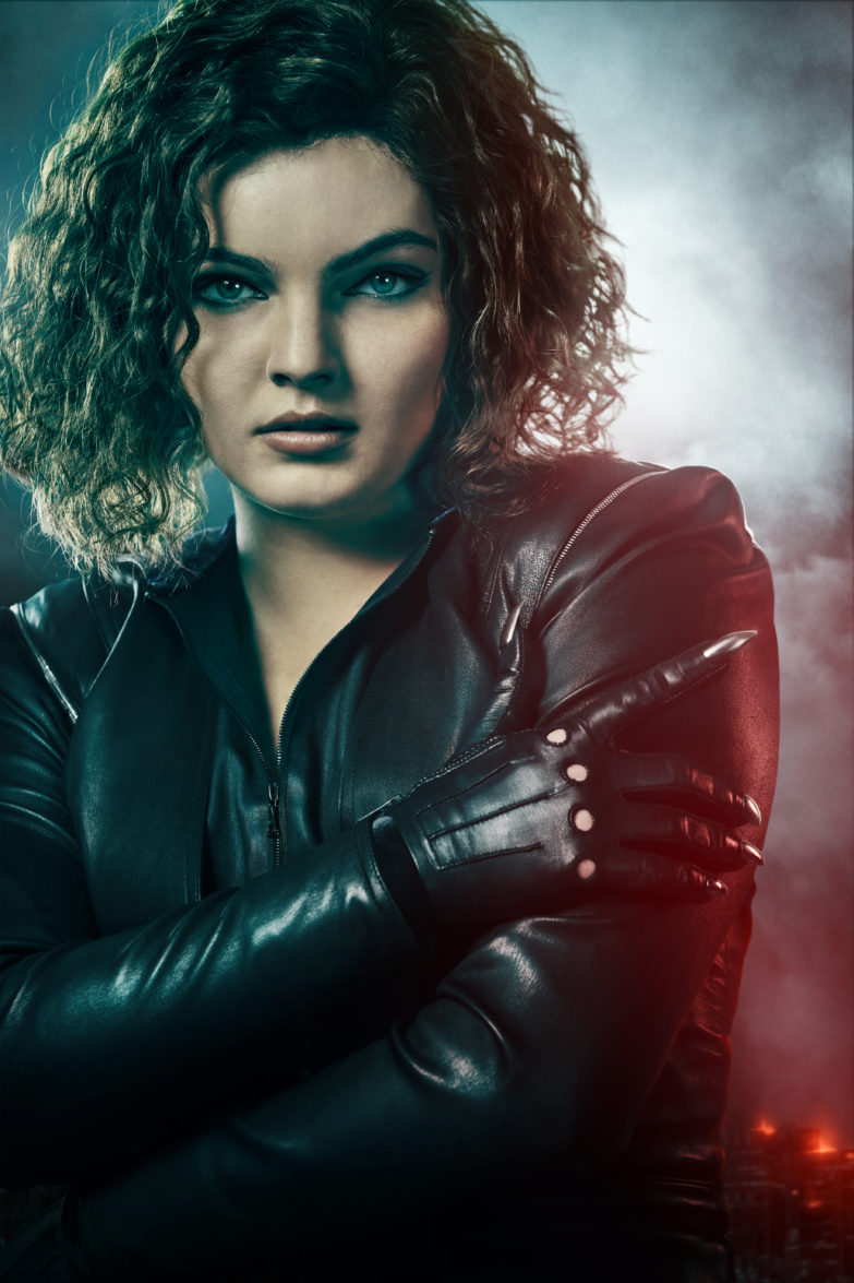 Camren Bicondova as Selina Kyle on Gotham
