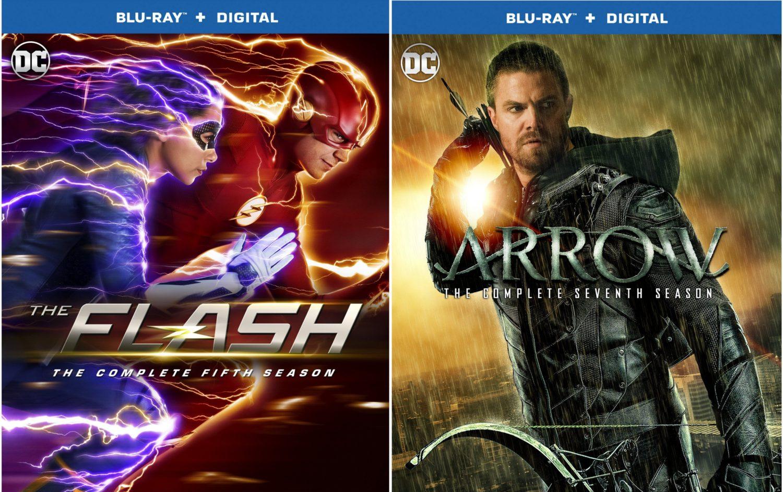 The Flash Season 5/Arrow Season 7 Covers