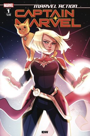 Marvel Action: Captain Marvel #1