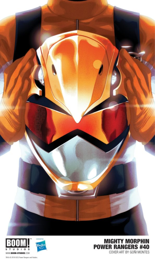 Mighty Morphin Power Rangers #40 SDCC Variant