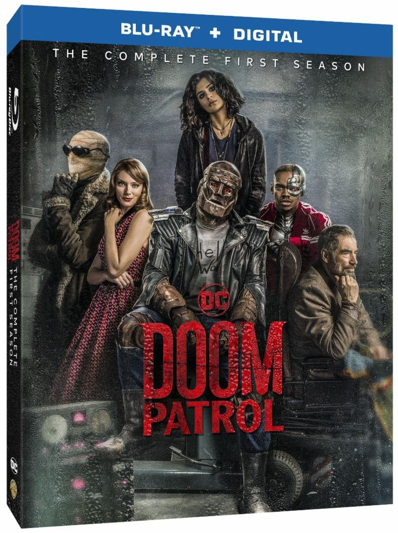 Doom Patrol Season 1 Box Art