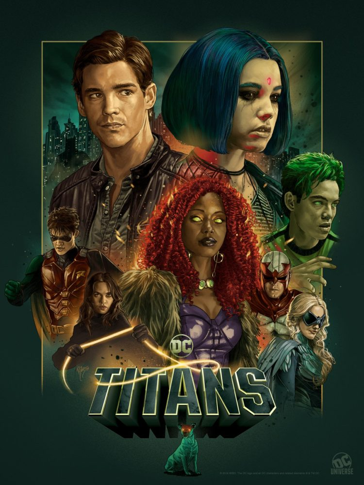 Titans Season 2 SDCC 2019 Poster