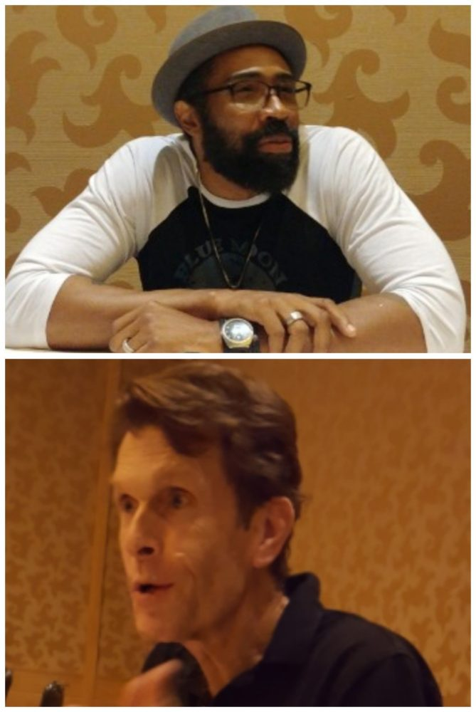 Cress Williams & Kevin Conroy