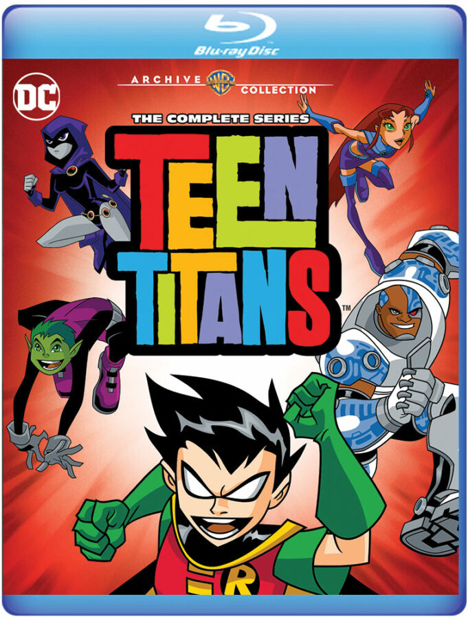 Teen Titans - The Complete Series Blu-Ray
