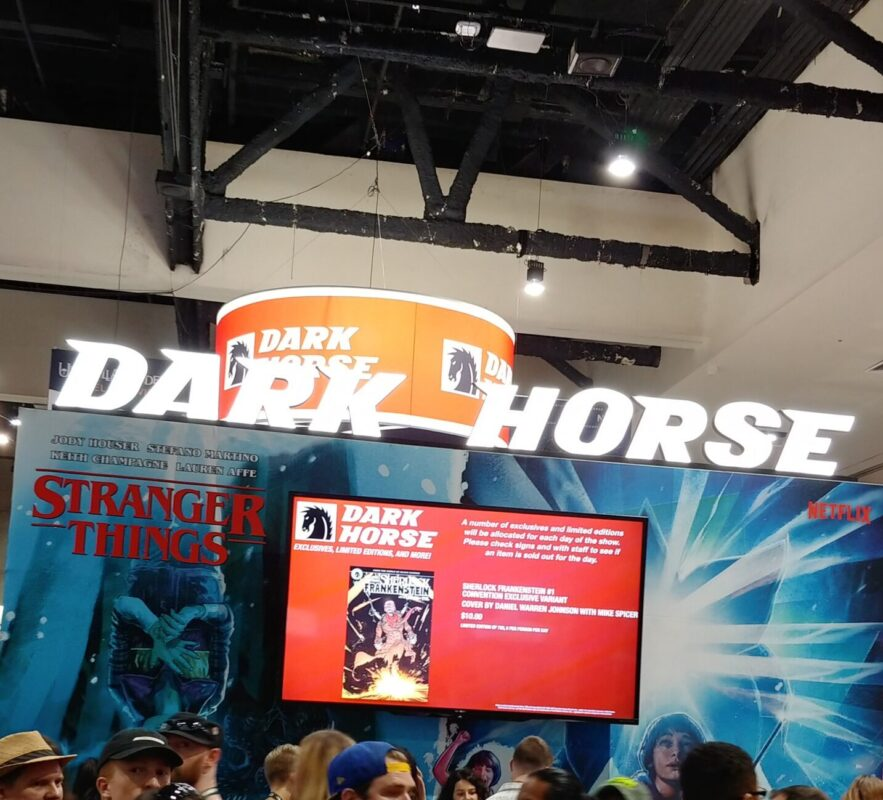 Dark Horse Comics - SDCC Floor Photo