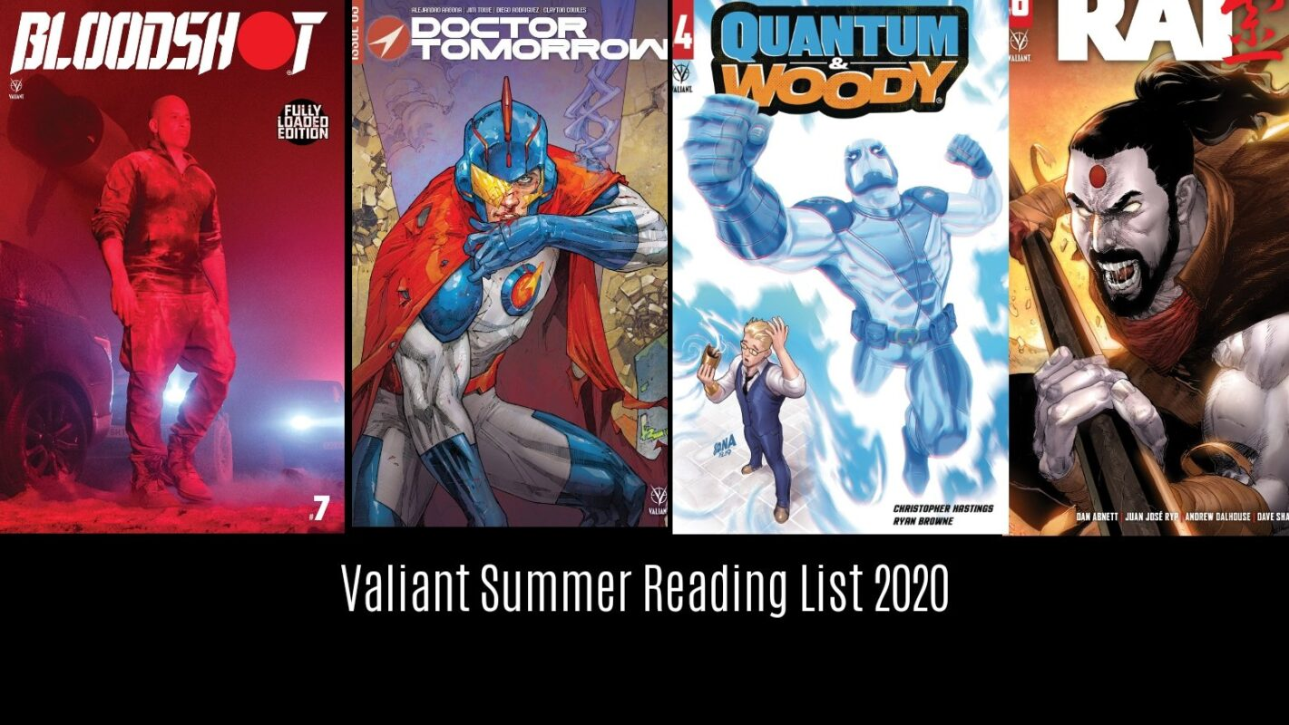 Valiant Summer Reading List