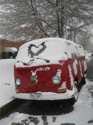 Snowy Van Hello
