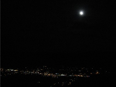 Moab Rim at Night