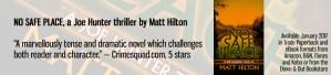 No Safe Place by Matt Hilton