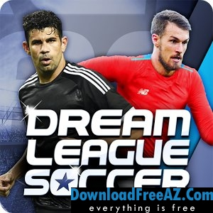 Unduh Dream League Soccer 2017 APK MOD Diretas + OBB Data Gratis