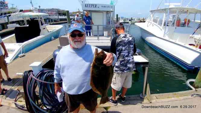 Margate and Atlantic City fishing. Fluke