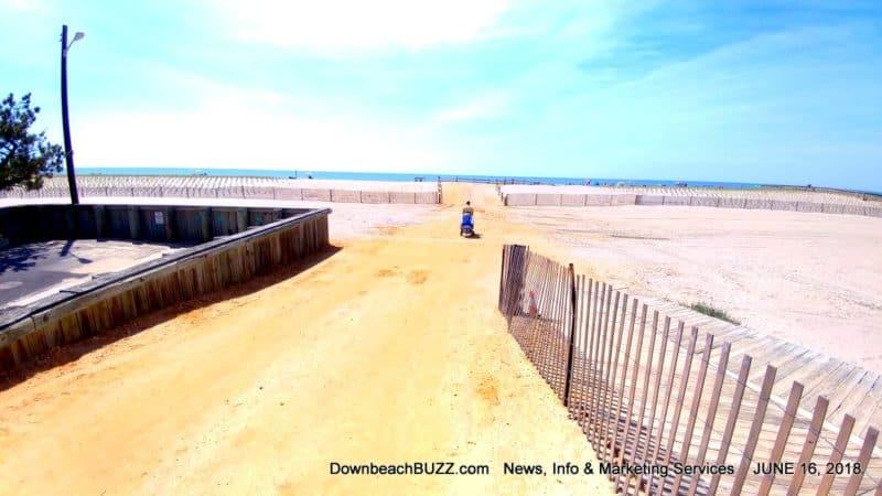 Margate Dune beach outfall